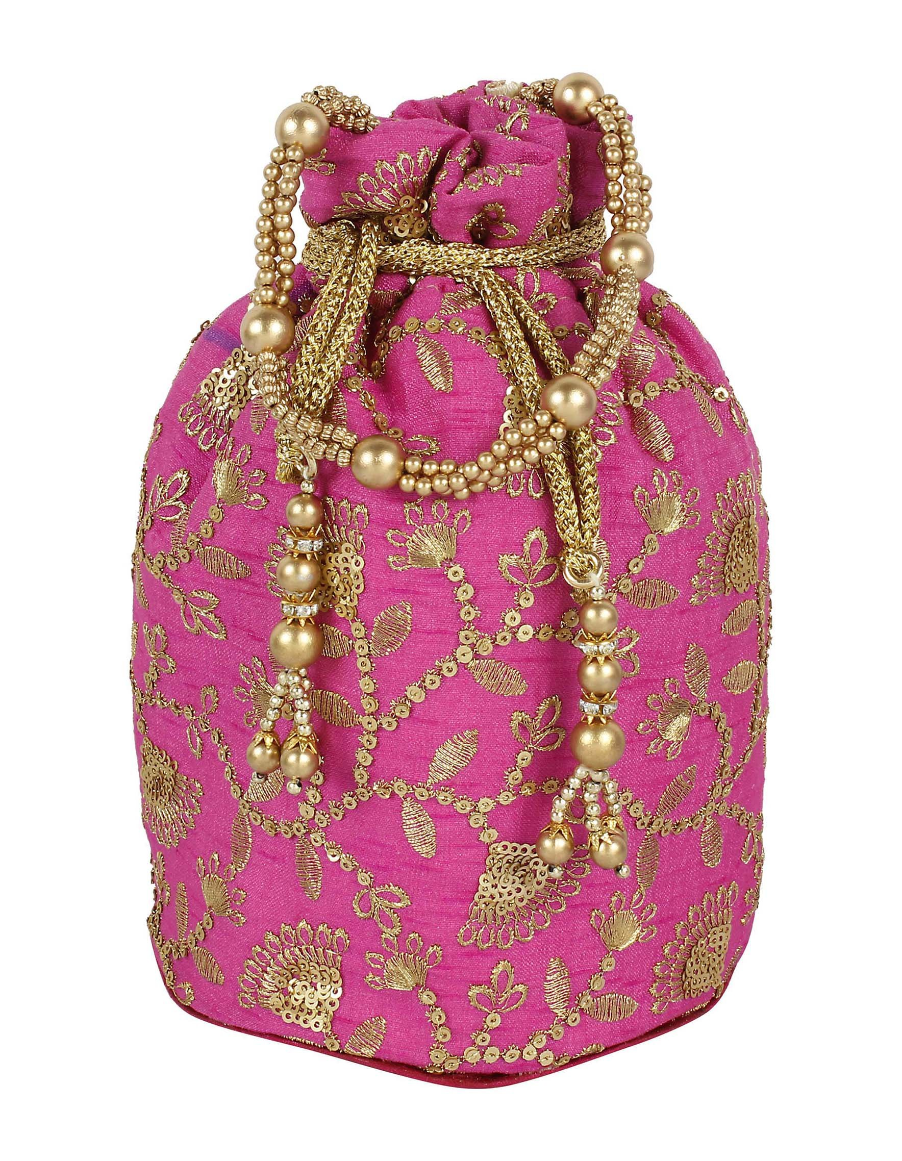 Purse Collection Indian Traditional Designer Potli For Women's