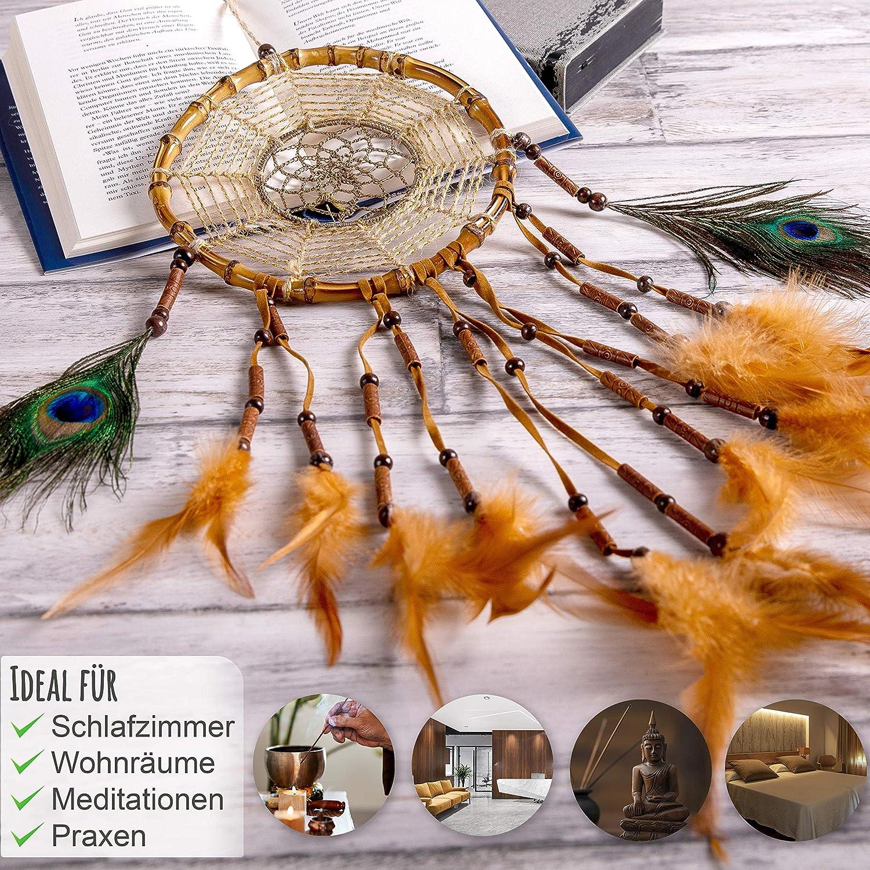 Makramee Garn Indianer Dreamcatcher Vintage Skandinavische Orientalische Deko 100/% Baumwolle Handgekn/üpfter Makramee Traumf/änger Prince Boho Boho Deko Wandbehang