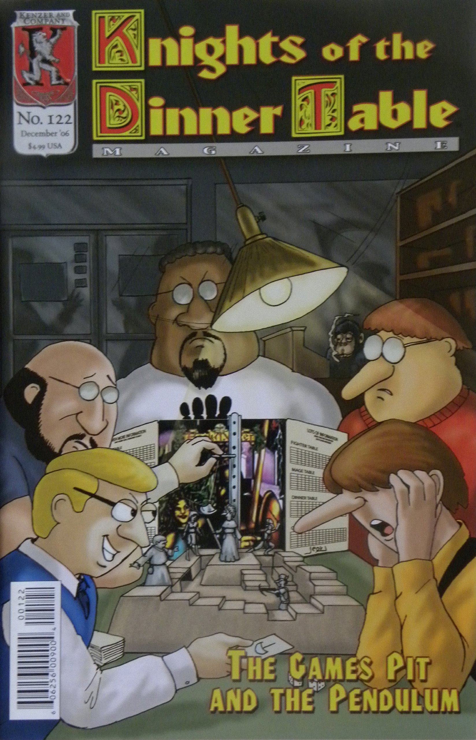Read Online Knights of the Dinner Table Magazine #122 The Games Pit and the Pendulum ebook