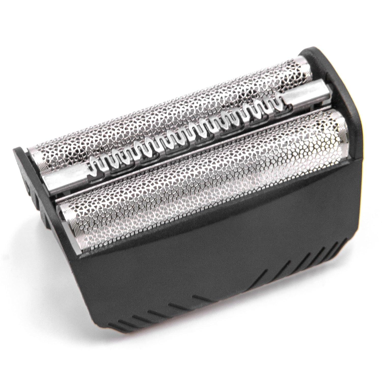 vhbw 1x doppia lamina con supporto per rasoio Braun 7765, 7783, 7785, 7790, FIX400, SmartControl, Syncro, SyncroPro, TriControl