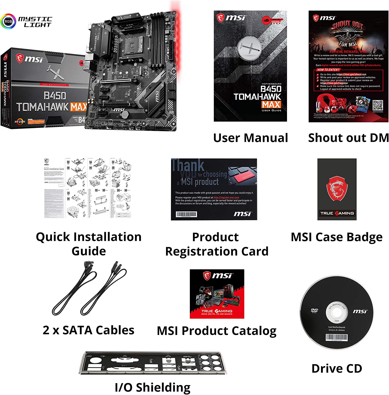 MSI Arsenal Gaming AMD Ryzen 2ND