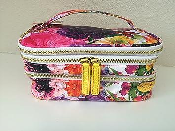 Amazon Com Sonia Kashuk Triple Train Case Makeup Cosmetic Travel