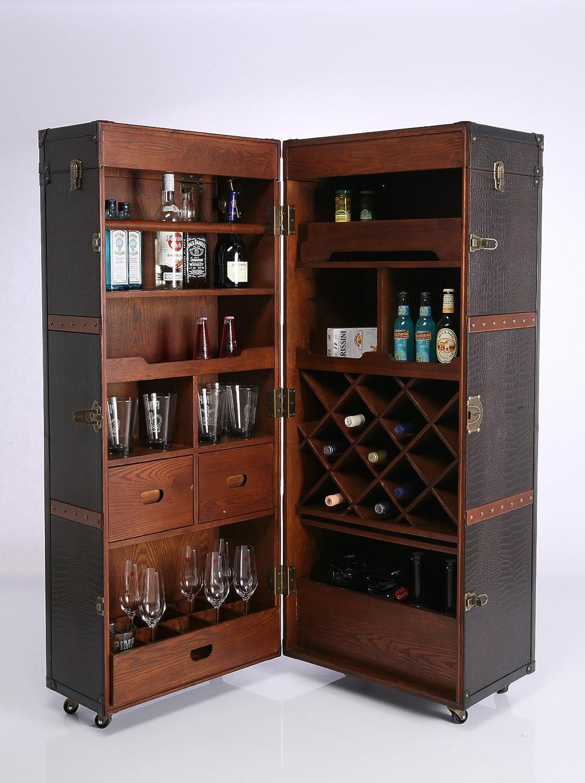 Kare 73933 Schrankkoffer Bar Colonial