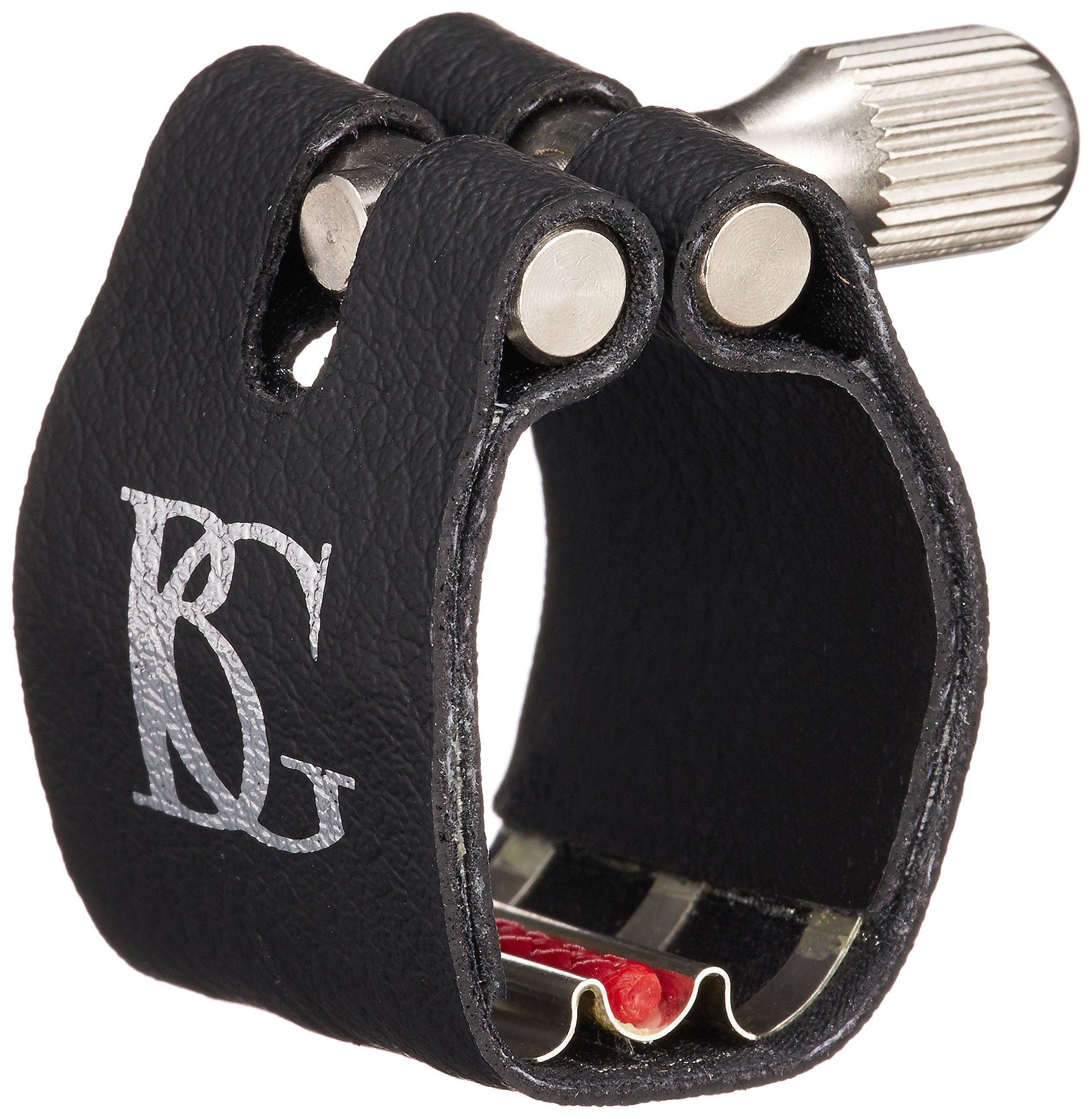 BG L4RS Revelation Silver Bb Clarinet Ligature with Cap