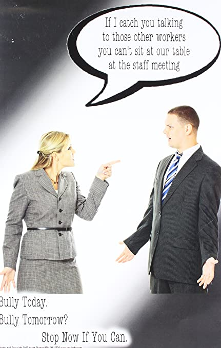 Poster #96: Funny Stop Bullying Poster: Amazon in: Office