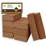 Grow Organiks Coco Coir Pith, Coco Peat Brick (Coconut Coir)-300g,OMRI Listed for Organic Use, Expansion Between 5-6L,Univers