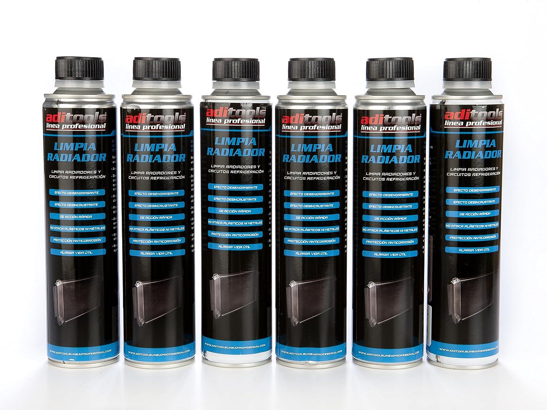LIMPIA RADIADOR 12 X 350ml. Efectivo limpiador de suciedades e incrustaciones del radiador y del circuito de refrigeración. Mezcla de ácidos inorgánicos y ...