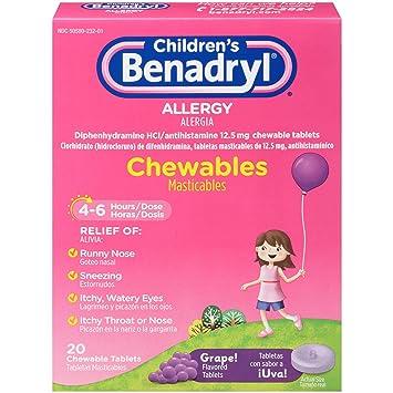 What Happens If You Chew Benadryl