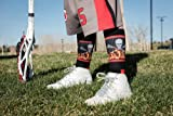MadSportsStuff Lacrosse Socks with Lacrosse