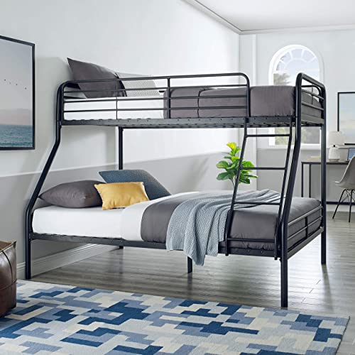 Amazon Basics Heavy Duty Twin-Over-Full Metal Bunk Bed