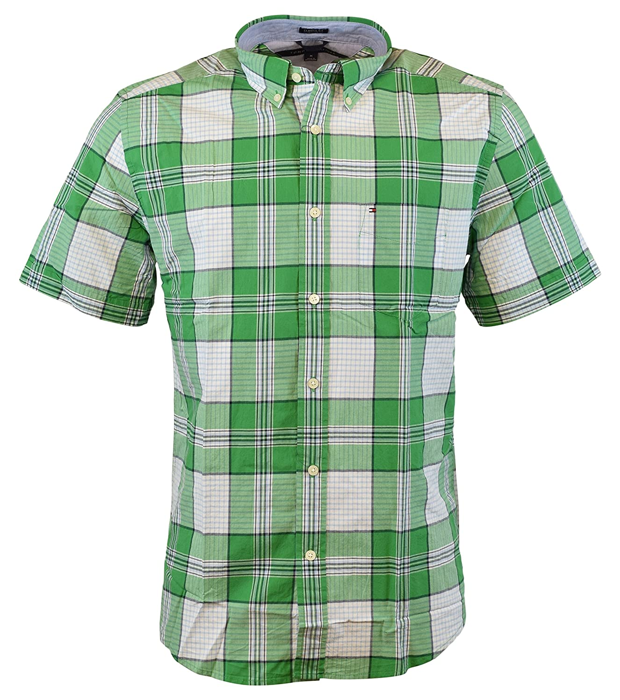 Cheap mens short sleeve button down shirts south park t for Cheap tommy hilfiger dress shirts