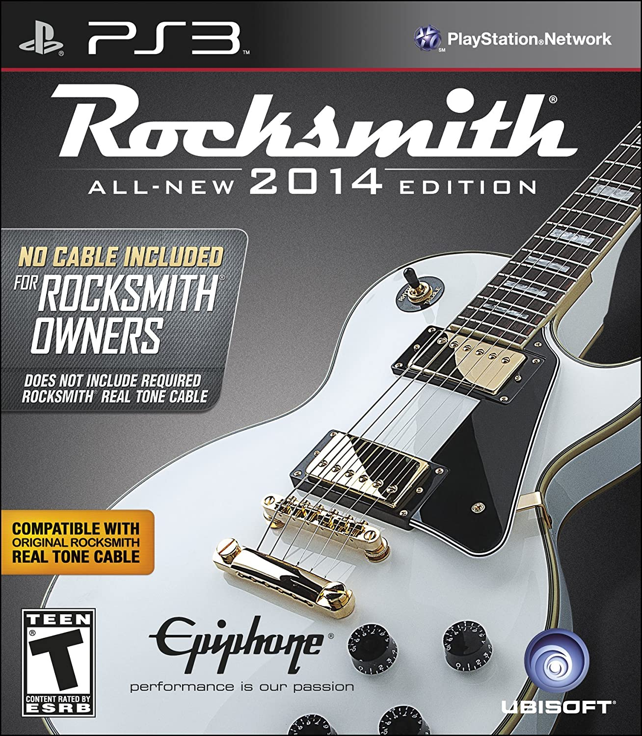 "Rocksmith 2014 Edition - ""No Cable Included"" Version for Rocksmith Owners - Playstation 3"