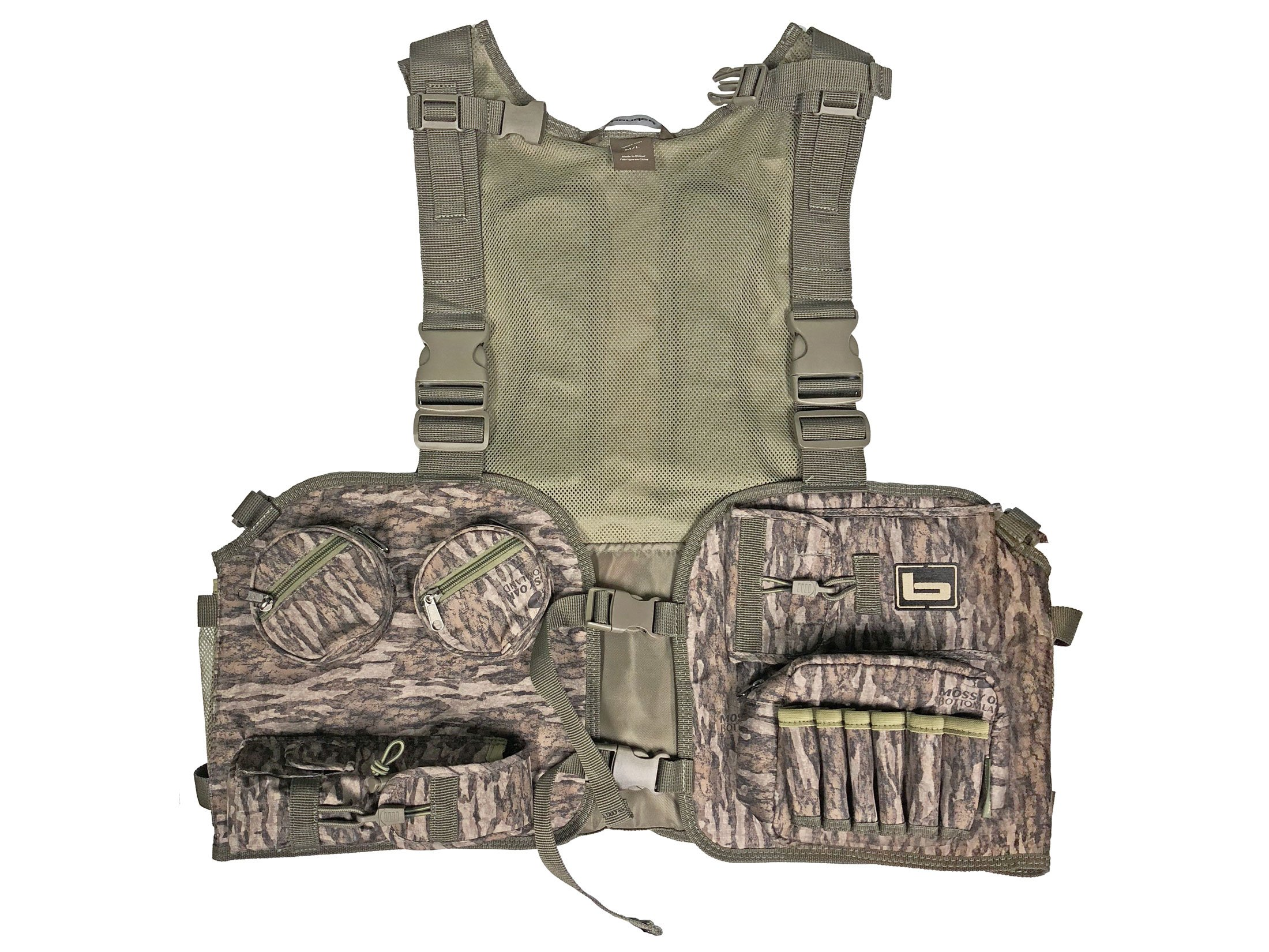 Banded Mossy Oak Bottomland Turkey Vest XL/2XL B1150002-OBL-X2X by Banded Outdoors (Image #1)