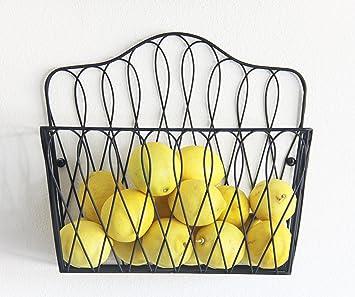 Amazon.com: Tagway Home Multi-functional Wall Magazine Rack Fruit Basket  Bathroom Toilet Tissue Paper Roll Storage Holder: Home & Kitchen