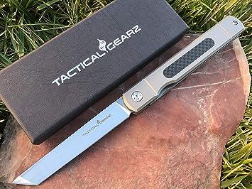 Amazon.com: Táctico Gear TG Tatsu, Tc4 mango de titanio ...