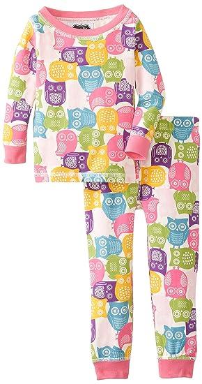 697c748948a Amazon.com  Mud Pie Baby Girls  Owl Lounge Set  Clothing