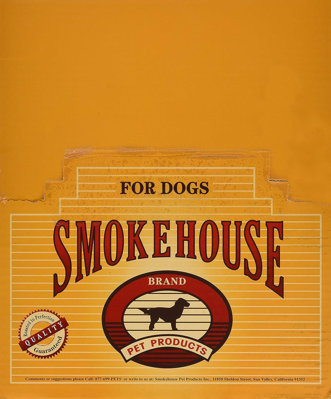 Smokehouse Pet Products Dsm85941 25-Pack Meaty Knee Bone Dog Treat Shelf  Display Box
