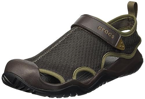 1bcdc2a28781 Crocs Men s Swiftwater Mesh Deck Sandal Sport