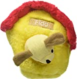 ZippyPaws Burrow Squeaky Hide and Seek Plush Dog Toy, Dog House