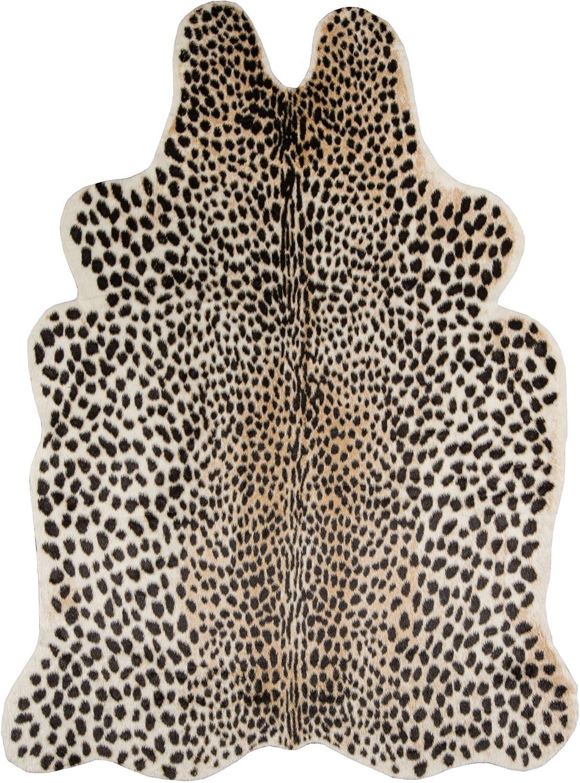 Erin Gates Acadia Collection Cheetah Faux Hide Area Rug 5