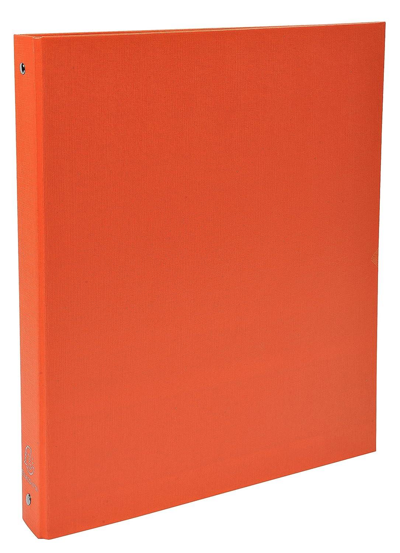 Exacompta 51371E - Carpeta forrada polipropileno 4 anillas, 30 mm, A4, negro, 1 unidad: Amazon.es: Oficina y papelería