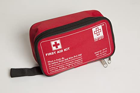 Buy FIRST AID NYLON POUCH MEDIUM - EMPTY - ST JOHNS FIRST AID Online