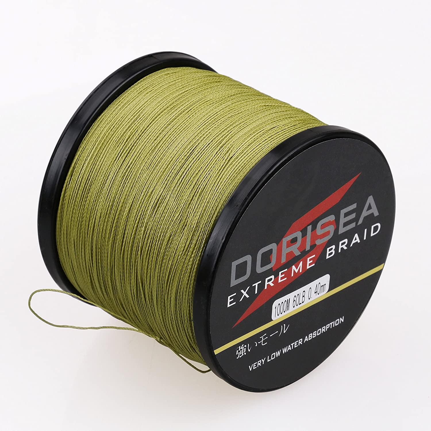 【超特価】 dorisea Extreme Braid Braid 100 – % PE編組釣りライン109yards-2187yards 6 B0789YZWVY – 300lbテストArmy Green 1000m/1093Yards 400lb/1.4mm(16Strands) B0789YZWVY, フクシマシ:bcde7fff --- a0267596.xsph.ru