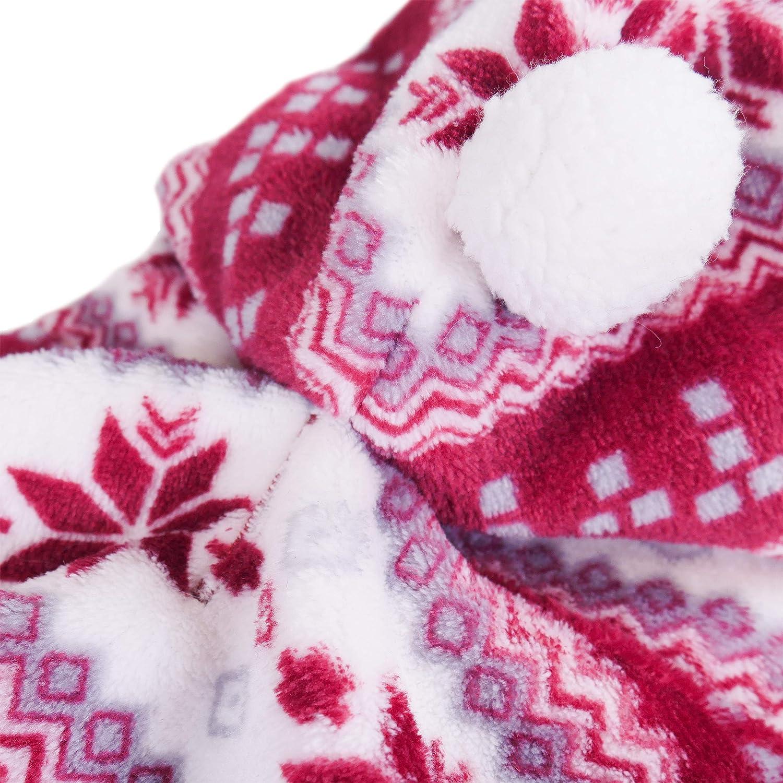 Medium Rosewood Super Soft Winter Fleece for Dogs