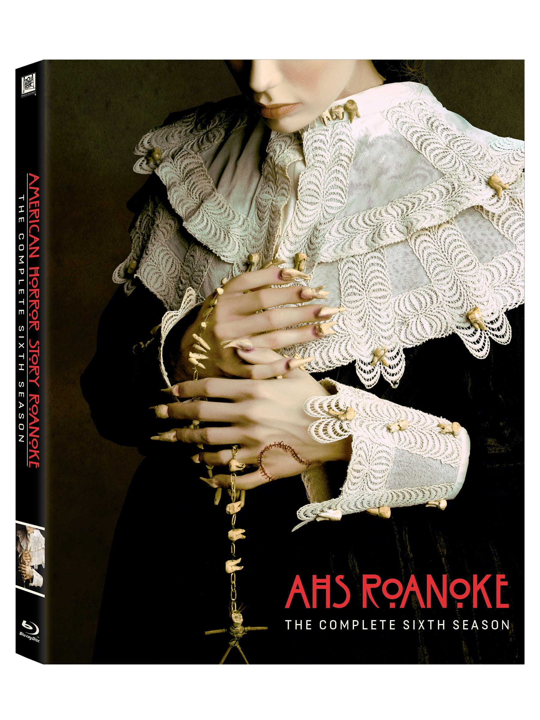 Blu-ray : American Horror Story: Roanoke: The Complete Sixth Season (Dolby, AC-3, Digital Theater System, 3 Pack, Widescreen)