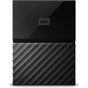 online retailer cf70a 2706d WD 2TB Black My Passport Portable External Hard Drive - USB 3.0 -  WDBYFT0020BBK-WESN