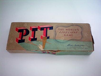 amazon com vintage pit the world s liveliest game parker