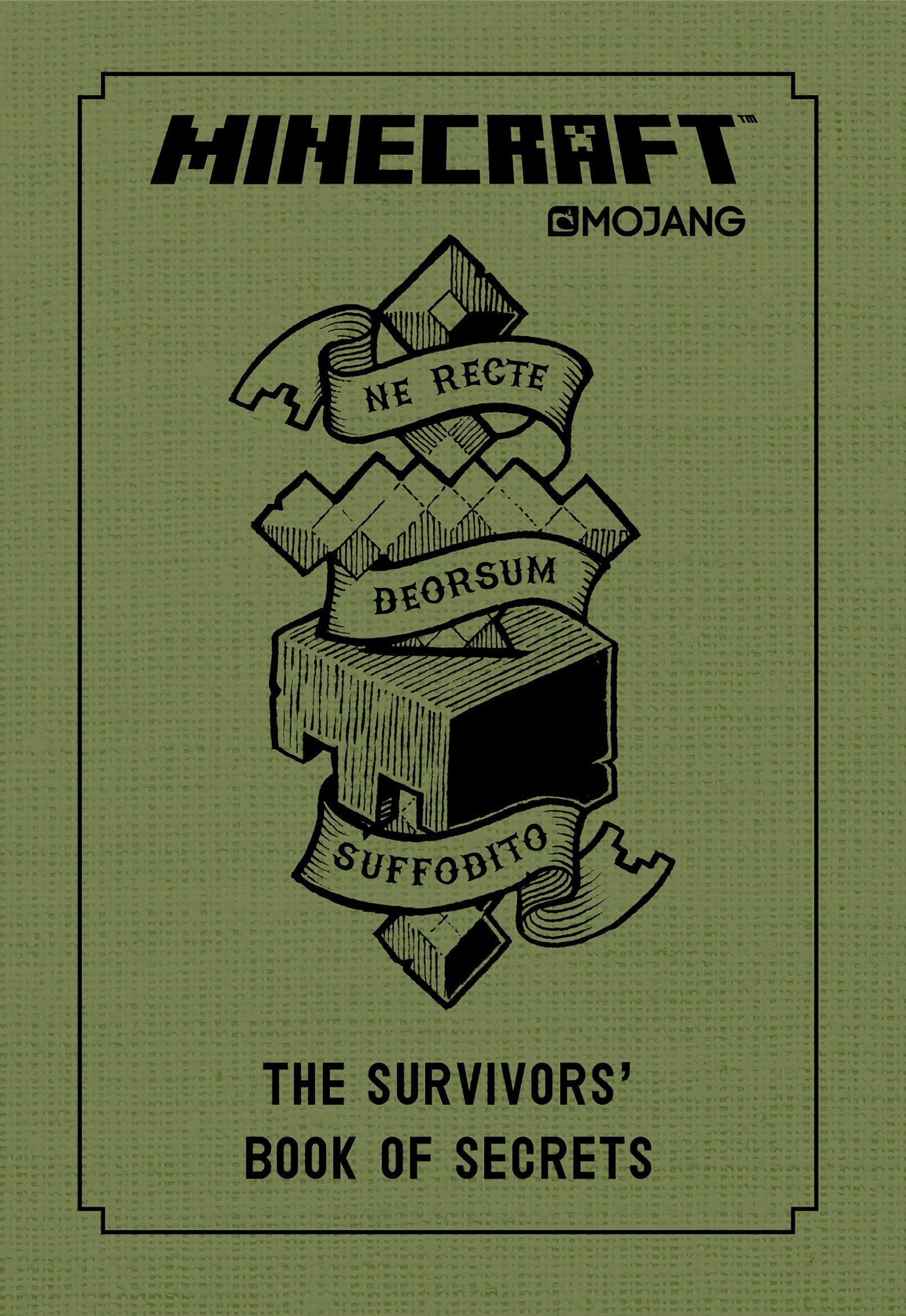 minecraft the survivors book of secrets an official mojang book rh amazon com Table Minecraft Xbox Crafting Guide Minecraft Guide Mobs