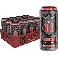 Reign Inferno Red Dragon, Thermogenic Fuel, Fitness and Performance Drink, 16 Ounce...