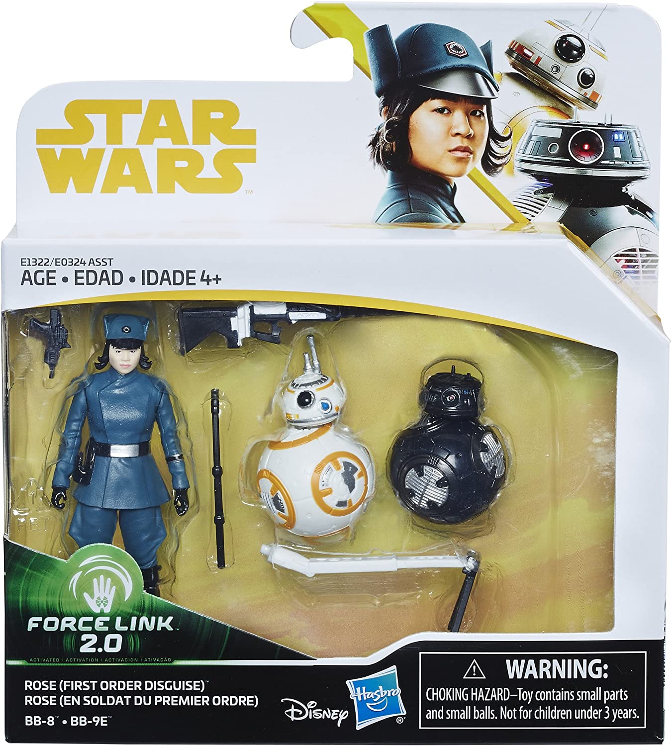 FINN First Order Disguise VS PHASMA Star Wars The Last Jedi Action Figure 2-Pack