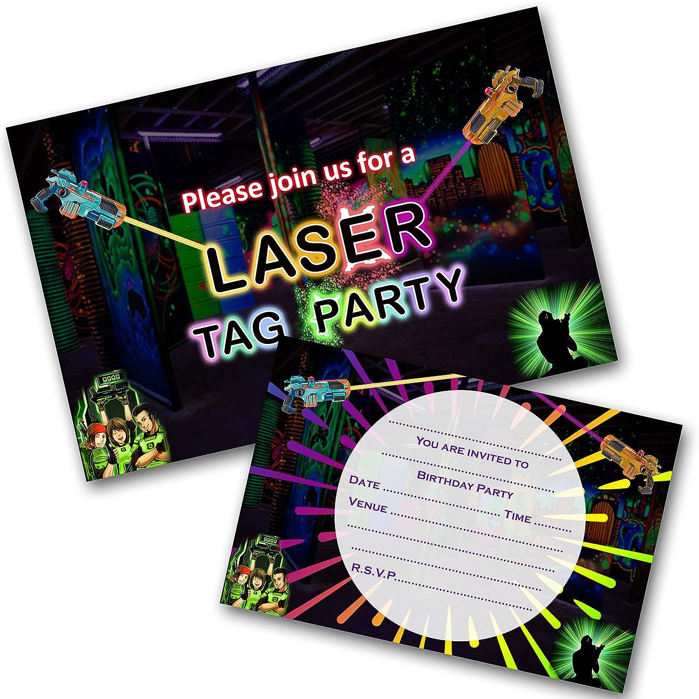 INVITES BIRTHDAY WITH ENVELOPES X10 HOT TUB|JACUZZI PARTY INVITATIONS