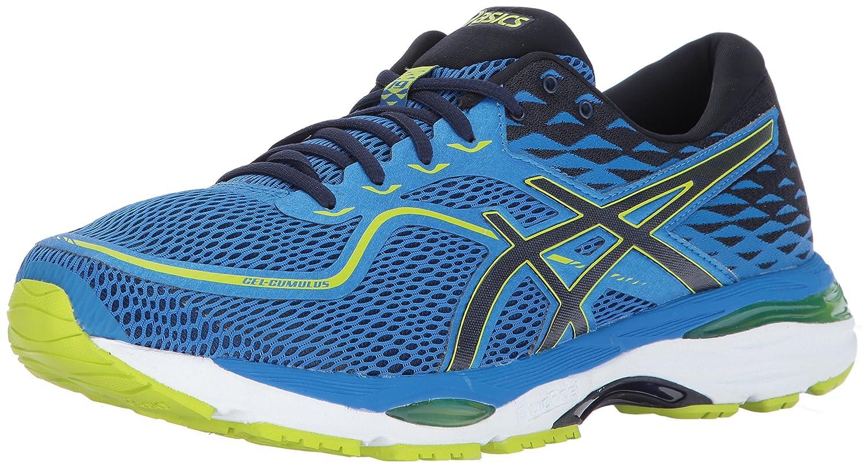 Directoire bleu Peacoat Energy Asics Men's Gel-Cumulus 19 Running chaussures 43.5 EU