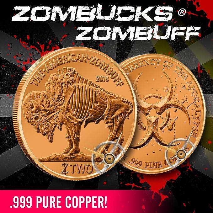 Zombucks Morgue Anne Copper Proof