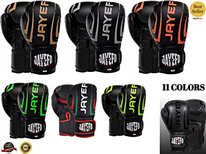 Jayefo Reventon 2.1 Leather Boxing Gloves Muay Thai Training Punching Bag Sparring  Gloves MMA UFC ( 96e0d0f71af3a