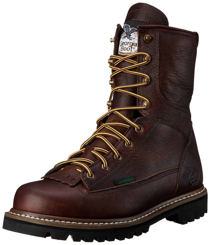 Georgia Boot メンズ B00JGX40C6 10.5 2E US チョコレート チョコレート 10.5 2E US