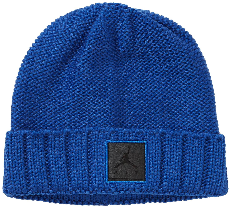 c78edd55299d7 ... hot nike jordan jumpman 576583 474 mens hat cable knit game royal blue  one size amazon