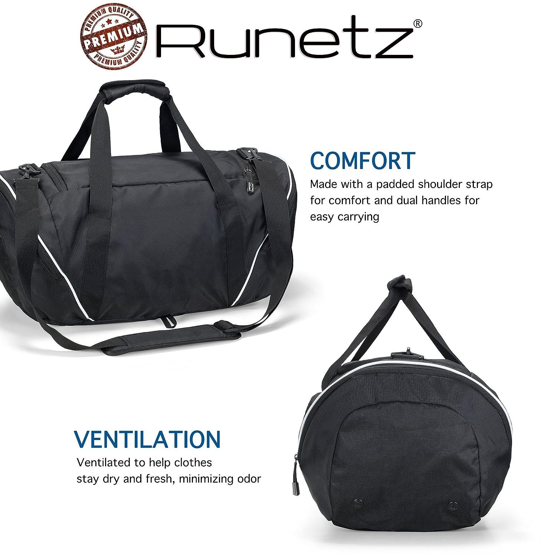 1a234aa634 Runetz - Gym Bag Travel Duffle Large 20