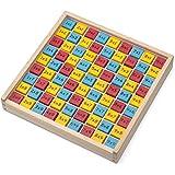 Tobar 21915–Vassoio di tavole di moltiplicazione in legno