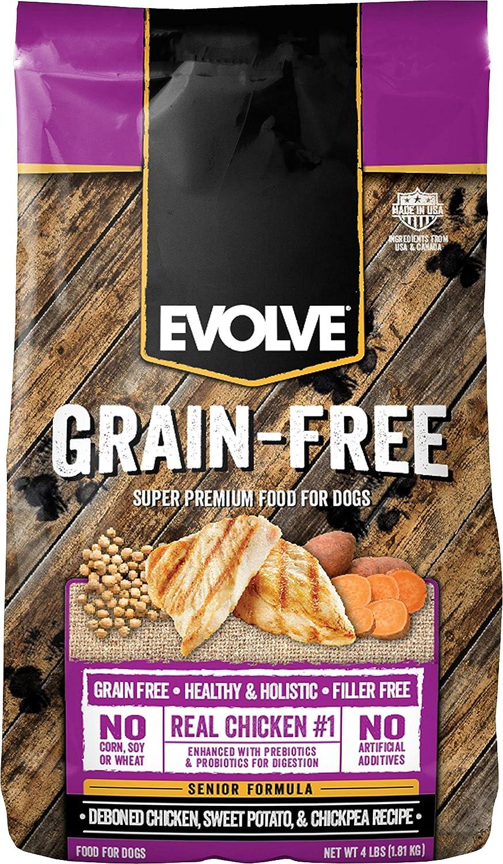 Evolve Triumph Grain Free Senior Dog Food