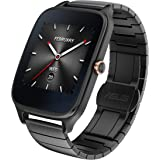 "Asus WI501Q(BQC)-2MGRY0011 - Smartwatch de 1.63"" (Qualcomm Snapdragon, 512 MB RAM, 4 GB eMMC, Bluetooth, WiFi, Android Wear, Acero Inoxidable), Gris Plomo"