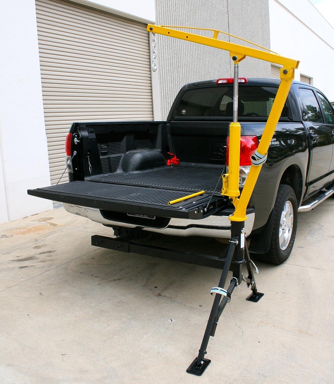 Amazon MaxxHaul Receiver Hitch Mounted Crane 1000 lbs