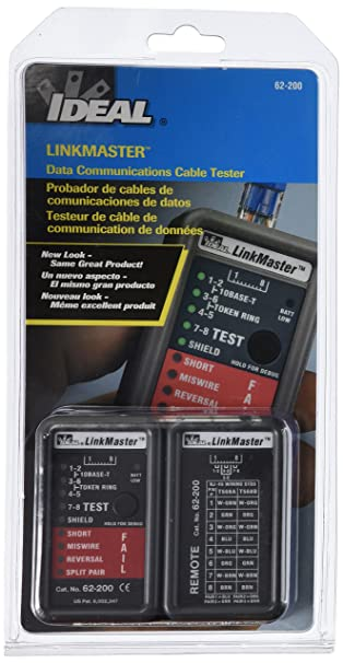 Schema Cablaggio Rj12 : Amazon.com: linkmaster utp stp cable tester: home audio & theater