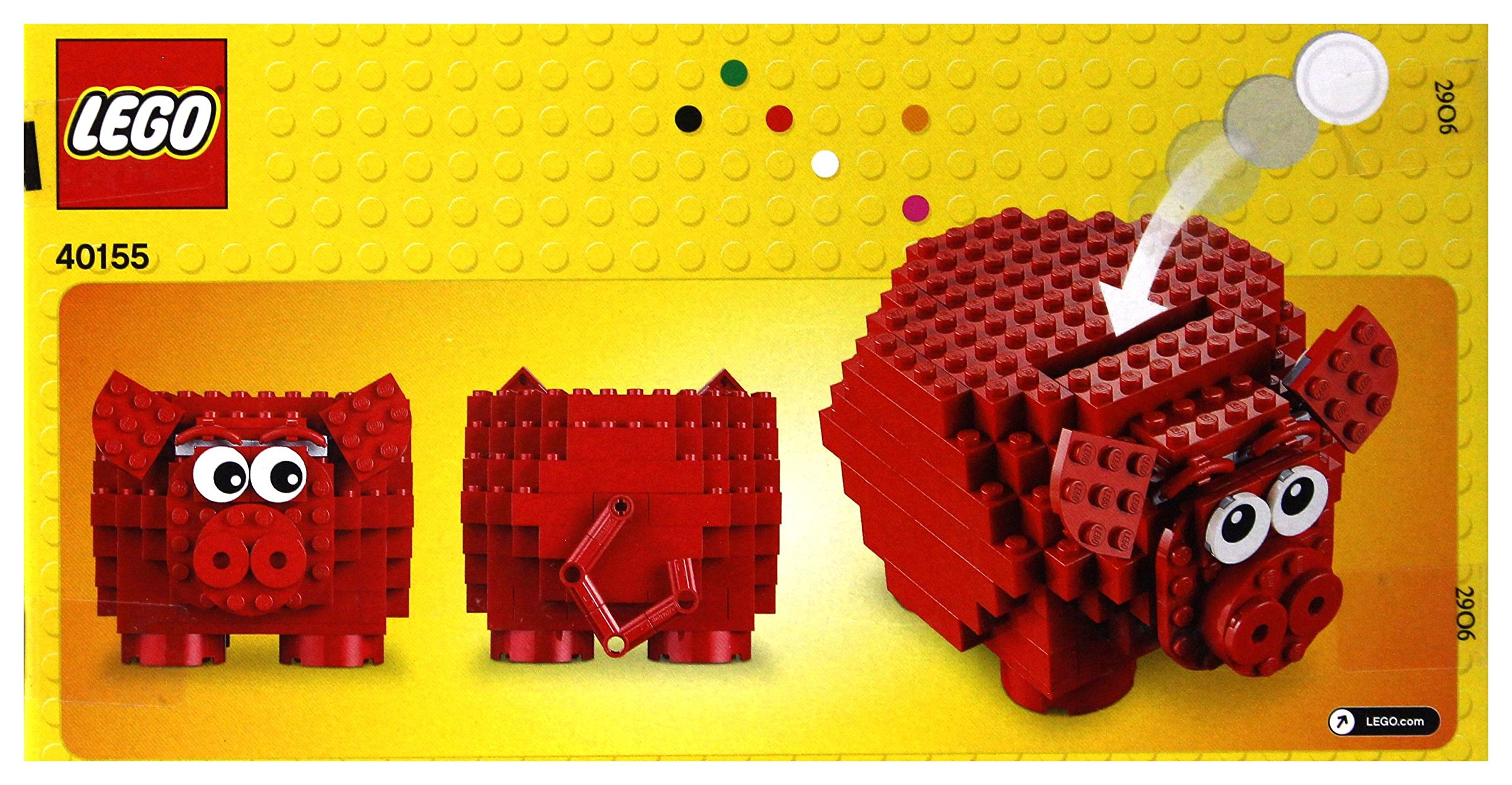 LEGO Pig Coin Bank 40155 by Lego (Image #2)