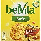 belVita Frühstück Kekse Soft Rote Beeren - Frühstückskekse aus locker luftigem Teig, Cerealien und roten Früchten - 10 x 200 g