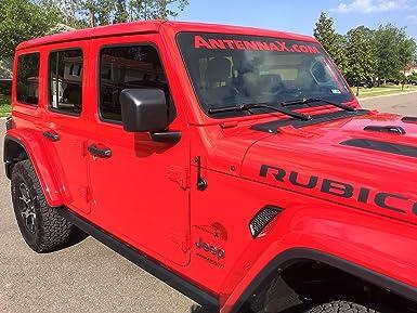 "7/"" Inch Antenna Black Billet 2004 thru 2009 Hummer H2 AM FM Car Radio Kit"