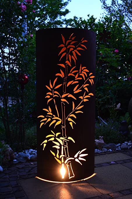 feuersäulen mit led beleuchtung